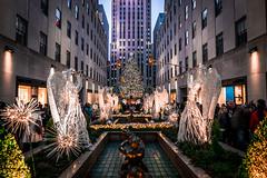 Christmas Eve in New York (Leong Seng Chee) Tags: rockefellercentre christmas newyork cityscape photowalk