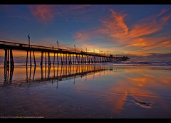 The First Sunset of 2017! (Sam Antonio Photography) Tags: imperialbeach pier samantoniophotography sandiego california sunset ocean vacation beach nature travel clouds colorful sky blue color beautiful waves outdoors pacific landscape architecture water scenery scenic tourism silhouette waterfront urban shore southerncalifornia sunsetbeach silkyocean dusksky longexposure imperial reflection