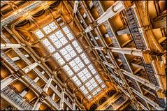 George Peabody Library in Baltimore (Nikographer [Jon]) Tags: georgepeabodylibrarym20160130d4209041 nikon d4 hdr baltimore maryland jhu library peabody nikographer lookingup