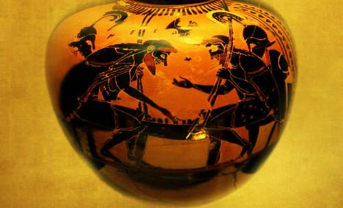 "Petteia - Ludus Latrunculorum  / Iconografía de las civilizaciones helenolatinas • <a style=""font-size:0.8em;"" href=""http://www.flickr.com/photos/30735181@N00/32143106860/"" target=""_blank"">View on Flickr</a>"