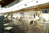 Bar seating (A. Wee) Tags: delta airlines 达美航空 skyclub lounge seattle 西雅图 sea airport 机场 seatac