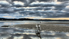 i am lonely... (andreasulini) Tags: sedia bassamarea golfodipirano costa nuvole monfalcone panzano marinajulia lumixfz200