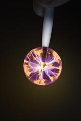 TbBp contraption (Uniquva) Tags: macromondays macro mondays pen flash light fingers electrostatic lightningball