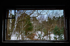 hello cool world... (CB-Photos) Tags: world sony urbex slt a77mk2 hellocruelworld cruel nature window inside out insideout lostplace snow natur schnee