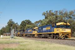 NR87 3WM2 Erreys Rd VIC (2) (G train 79) Tags: nr nr87 wm2 steeltrain quin