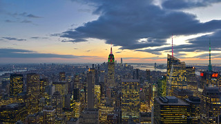 NYC From Top Of The Rock