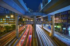 Kwun Tong, Hong Kong (mikemikecat) Tags: 官塘道 官塘 apm kwuntong hongkong sonya7r a7r mikemikecat sony stacked building colorful blue 建築 建築物 建築結構 基礎建設 城市 夜景 nightscape urban 戶外 h天際線 建築大樓 摩天大廈 cityscapes carlzeiss hdr fe1635mm sel1635z lighttrails