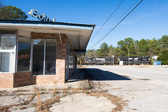 A Coin for a Spin (ajketh) Tags: ns norfolk southern p77 c0line branch savannah cayce sc south carolina columbia high hood gp382 local 5218 5238 rc remote control laundromat laundry abandoned coin