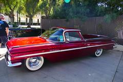 1959 Chevy ElCamino (bballchico) Tags: 1959 chevrolet elcamino julifennell saturdaydrivein grandnationalroadstershow gnrs2017 carshow