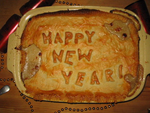 Happy New Year! Pie