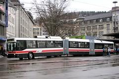 St. Gallen - Switzerland (Kecko) Tags: bus public schweiz switzerland europe swiss transport kecko ostschweiz 2006 stgallen verkehr articulated trolleybus gelenkbus vbsg swissphoto