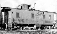 KATY WOODEN CABOOSE (BOB WESTON) Tags: railroad caboose mkt mktrailroad katyrailroad