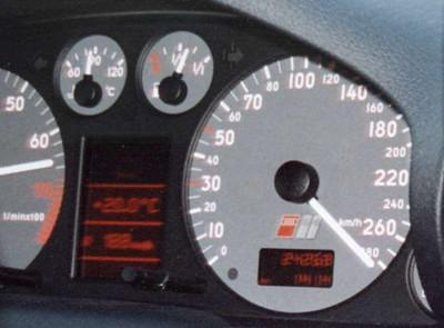 Audi S4 over 280 km/h (Highway Lleida - Barcelona)