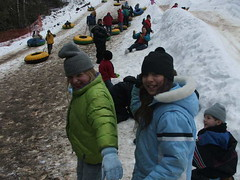 Paige & Rachel (spy kids at lwc) Tags: slopes winterretreat campcourtney