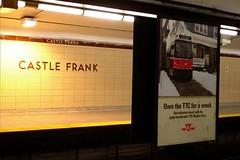 Castle Frank Subway Station, Toronto (Craig James White) Tags: toronto ontario canada architecture subway ttc 1966 rapidtransit bloordanforthsubway castlefranksubwaystation