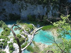Sticks & Stones (OaklandNative) Tags: bridge favorite lake nature water beautiful waterfall nationalpark amazing croatia plitvice plitvicka specnature