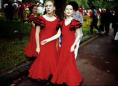 Together (eyecatcher) Tags: girls red melbourne lomolca together eyecatcher