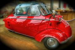 messer (patrix) Tags: car photoshop pixar iphoto atrium emeryville hdr 3wheel messerschmidt 4exp