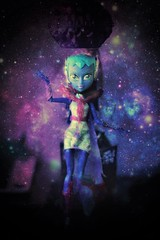Lost somewhere in outer space (Bianca Hopkins) Tags: astranova mh monster high alien galaxy mattel doll