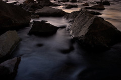 Rogue River: Mysterious Current (| HD |) Tags: sunset motion 20d nature water oregon canon river rocks natural personal smooth favorites southern favourites hd rogue creature favs darwish weeklysurvivor hamad current medford