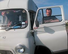 The proud father (reg tubby) Tags: classic camper van bmc 250 ju