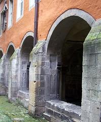 Innenhof (happycat) Tags: germany kloster arkade bogengang sachsenanhalt schulpforte