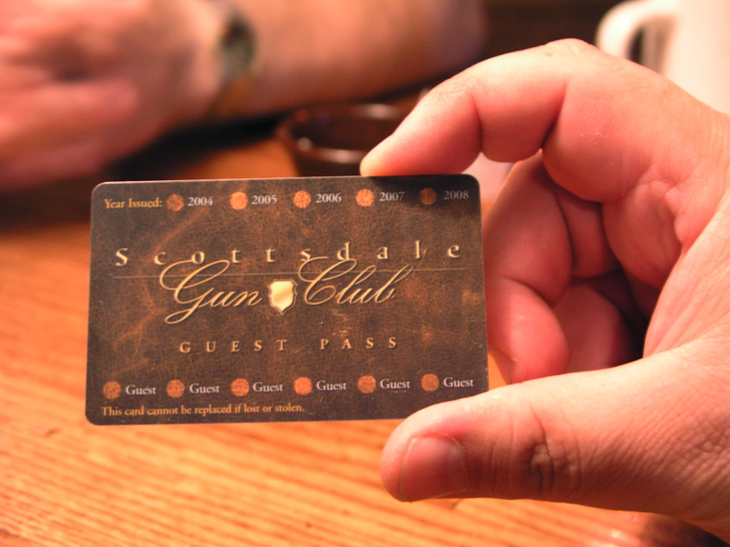 Scottsdale Gun Club Guest Pass
