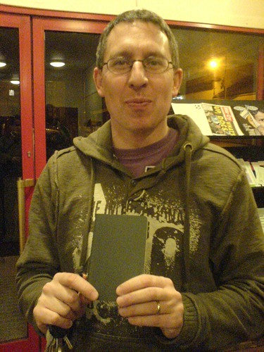 Kenny with his new cahier