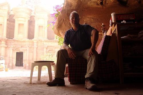 Jordan - Fred, Monastery, Petra
