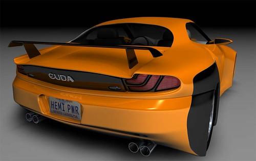 Chrysler Hemi Cuda Concept