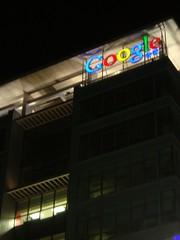 Google China·夜景