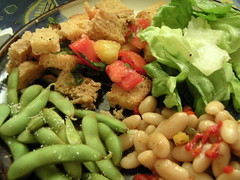 Salad dinner, again.
