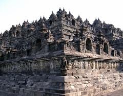 Borobudur (elbisreverri) Tags: travel 15fav 2004 topv111 topv2222 architecture indonesia temple java asia southeastasia stupa topv1111 buddhism unesco coolpix unescoworldheritage buddhisttemple borobudur rockcarved