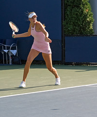 Nicole Vaidisova returning serve (eugene) Tags: nicole vaidisova usopen tennis forehand return
