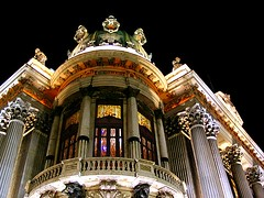 Teatro Municipal - Rotunda (  Claudio Lara ) Tags: street city light brazil sky urban streets color building art luz rio brasil riodejaneiro architecture de teatro theater downtown colours rj janeiro cidademaravilhosa bresil centro stainedglass brasilien cu explore noite nightphoto rioangulos teatromunicipal 1000 brasile nightphotos municipal cinelndia vitrais vitral vitraux coluna teatromunicipalrj 555v5f 333v3f 444v4f claudiolara praafloriano 952005 777v7f 888v8f 134016 claudiol clccam teatromunicipaldorio