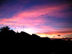 Evening glow (nori_n) Tags: time think live life japan feel evening glow sunset cloud sky