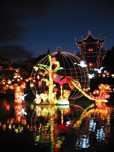 Photo du jour lanternes chinoises au jardin botanique - Lanterne de jardin ikea ...