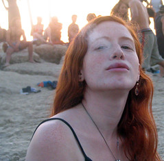 redhead (miss pupik) Tags: beach israel telaviv smoke womanonly babe smoking redhead freckles prople bestofisraelproject