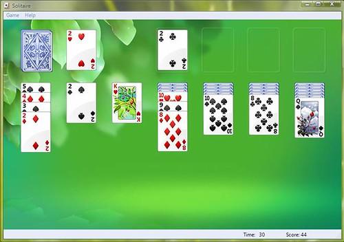 Windows solitaire