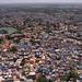 Aerial View of Jodhpur from Mehragarh's Heights