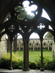 Salisbury Cathedral Cloisters - by Roger Smith