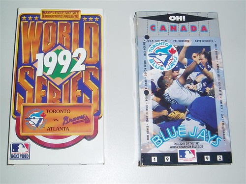 Toronto Blue Jays World Series Tapes