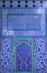 Blue tilework, Topkapı Palace, Istanbul (birdfarm) Tags: turkey türkiye turkishtiles ottoman törökország tirkiye topkapi topkapıpalace topkapı İstanbul istanbul badge