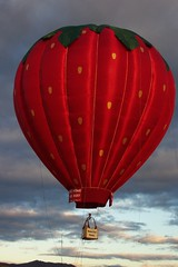 Strawberry Hot Air Balloon 9 17 05