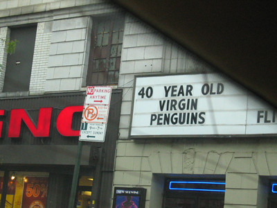 funny movie sign