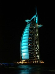 Dubai, Burj al-Arab - 7 Star Hotel, Jumeira, UAE (mr-mojo-risin) Tags: architecture star hotel al dubai famous 7 icon arab seven sail shape barth jumeira jürgen burj sevenstarhotel jogy juergenbarth