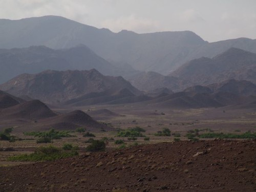 French Somaliland, towards the border