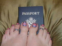 Passport and a Pedicure