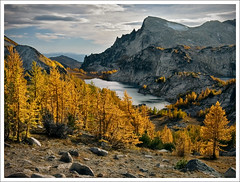 0266. (koaflashboy) Tags: autumn mountains landscape washington bravo raw 500v20f searchthebest slide larches canong2 alpinelakeswilderness enchantmentlakes littleannapurna theenchantments 250v10f