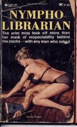 Nympho Librarian Book Cover